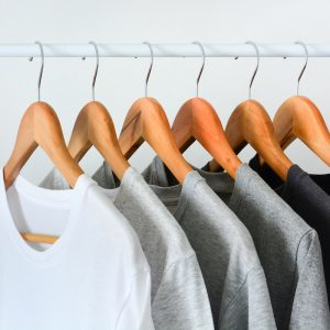 a grouping of men's tshirts